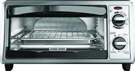 Black & Decker TO1332SBD toaster oven review