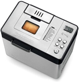 Breadman BK1050S 2 lb Stainless Steel Professional Bread Maker