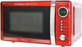 Nostalgia Retro Series Countertop Microwave Oven