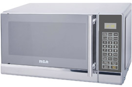 RCA RMW741 0.7 Cubic Foot Stainless Steel Microwave