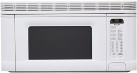 Sharp 950-Watt 1-2/5 Cubic-Foot OTR Microwave