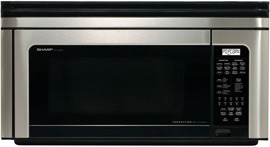 Sharp R-1880LS Over The Range Microwave Oven