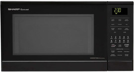 Sharp R830BK 900 Watts Convection Microwave Oven