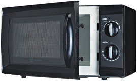 Microwave ovens without turntable