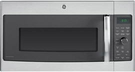 GE Profile 1.7 Cubic Feet Stainless Steel Over-the-Range Microwave