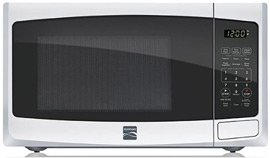 Kenmore 0.9 cu. ft. Countertop Microwave White