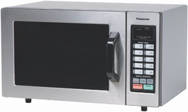 Panasonic 0.8 cuft Stainless Steel Microwave Oven