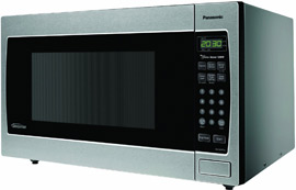 Panasonic Stainless Steel Microwave with Inverter Technology