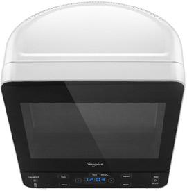 Whirlpool WMC20005YB 0.5 Cubic Feet Black Microwave